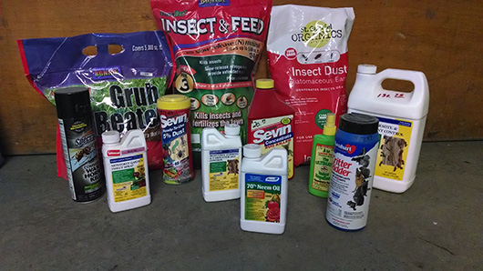 Insect and pest control products