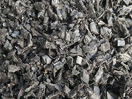 Black Painted Mulch